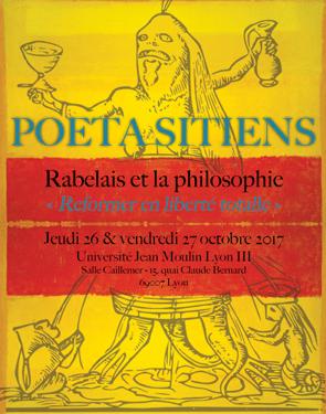 Rabelais et la philosophie - 26 et 27 octobre 2017