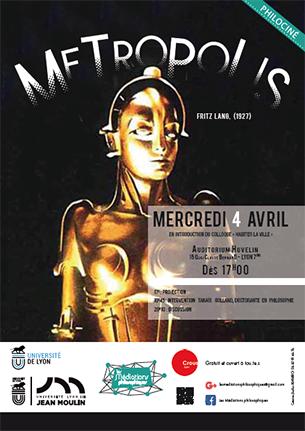 Philociné : Metropolis - 4 avril 2018